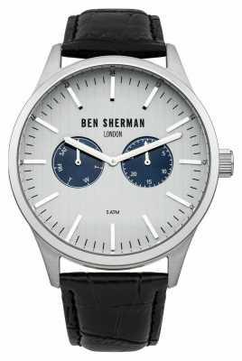 Ben Sherman Mens Spitalfields Social Black WB024S