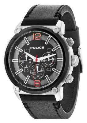 Police Mens Armor Black Chronograph Watch 14378JSTB/02