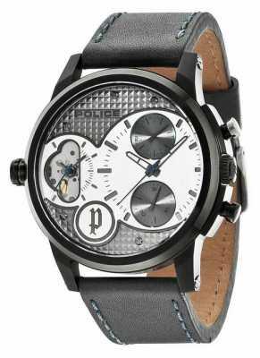 Police Gent's Diamondback Dual Time Watch 14376JSB/04