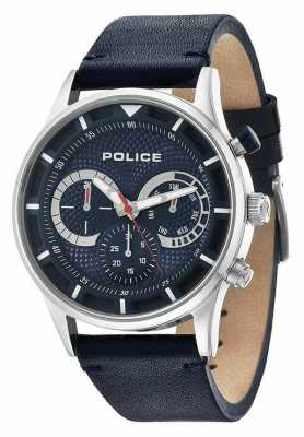 Police Mens Driver Blue Chronograph Watch 14383JS/03