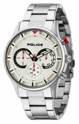 Police Mens Driver Silver Watch 14383JS/04M