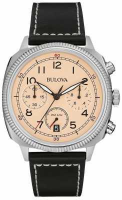 Bulova Military UHF Chronograph Strap Watch 96B231