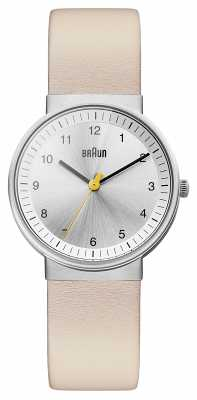 Braun Classic Silver Steel Watch BN0031SLBGL