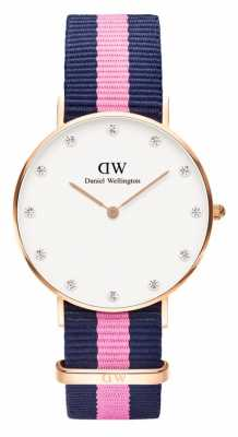 Daniel Wellington Womens Classy Winchester 34mm Rose Gold Pink DW00100077