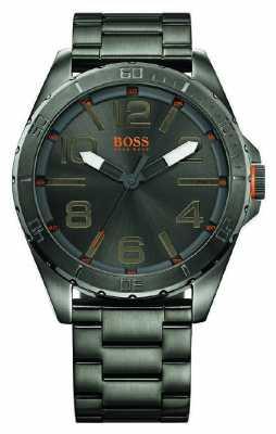 Hugo Boss Orange Gent's Berlin Gunmetal Grey Watch 1512999