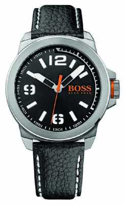Hugo Boss Orange Mens New York Classic Watch On Leather 1513151