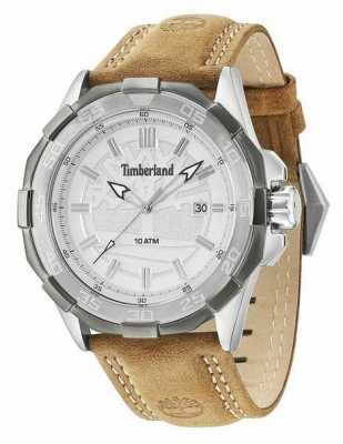 Timberland Mens Paugus Camel Leather Strap 14098JSTU/04