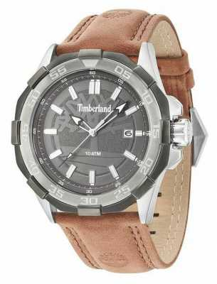 Timberland Mens Paugus Brown Leather Strap 14098JSTU/61