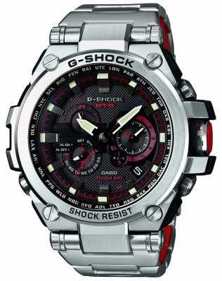 Casio Premium Solar Radio Controlled G-Shock Silver MTG-S1000D-1A4ER