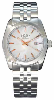 Rotary Lausanne Mens All Steel Watch GB90110/06