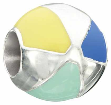 Chamilia Life's a Beach - Beach Ball - Sterling Silver with Multi Color Enamel 2020-0798