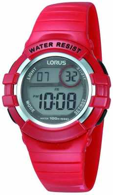 Lorus Childrens Alarm Watch R2399HX9