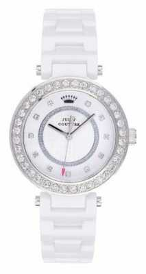 Juicy Couture Womens Luxe, White Ceramic Watch 1901259