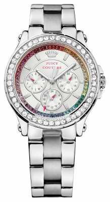 Juicy Couture Womens Pedigree, Steel, Crystal Watch 1901275