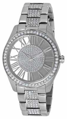 Kenneth Cole Womens Stainless Steel Stone Set Dial KC0031