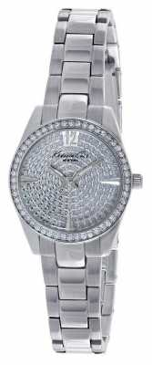 Kenneth Cole Womens Stainless Steel Stone Set Dial KC4978