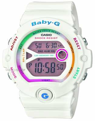 Casio Womens Baby-G White Digital BG-6903-7CER