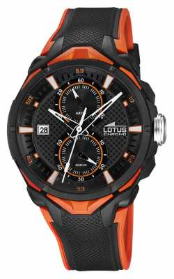 Lotus Mens Marc Marquez Chronograph Rubber Strap L18107/6