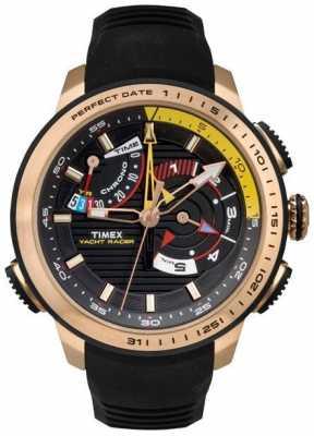 Timex Mens Intelligent Quartz Yacht Gold Tone Case TW2P44400