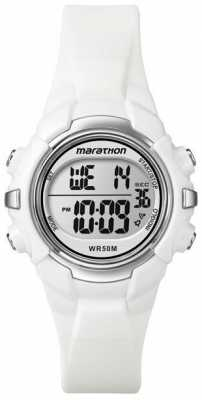 Timex Digital Mid Marathon White Watch T5K806