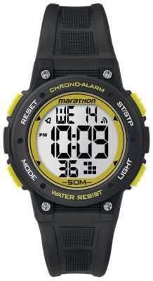 Timex Marathon Digital Rubber Strap Yellow TW5K84900