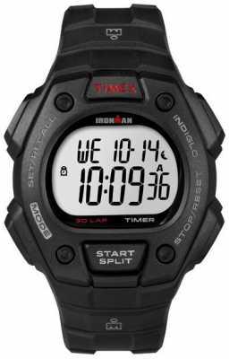 Timex Mens Ironman Classic 30 Digital Black Case T5K822