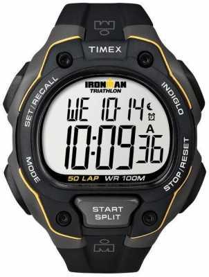 Timex Mens Timex Ironman 50Lap Full Size Premium Al T5K494