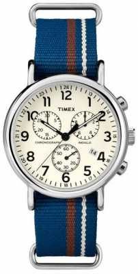 Timex Mens Weekender Chronograph Oversized TW2P62400
