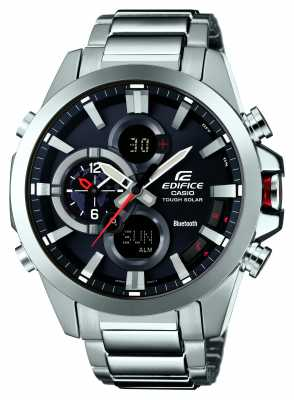 Casio Edifice Bluetooth 4.0 Solar Chronograph ECB-500D-1AER