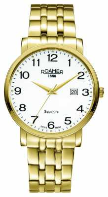 Roamer Mens Classic Line PVD Gold Plate 709856482670