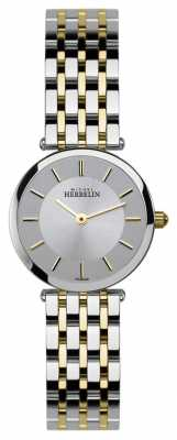 Michel Herbelin Womens Epsilon, Two Tone Watch 1045/BT12