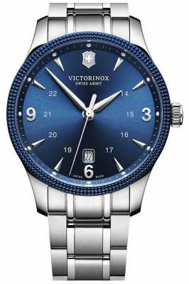 Victorinox Swiss Army Mens Alliance Blue Dial Plus Knife 241711.1