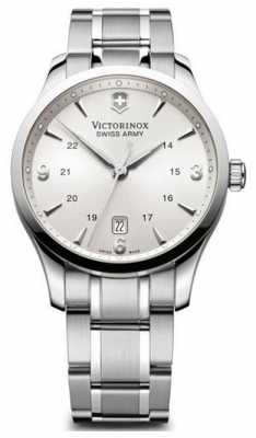 Victorinox Swiss Army Mens Alliance Silver Dial Plus Knife 241712.1