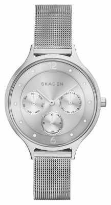 Skagen Womens Anita Refined Stainless Steel Mesh SKW2312