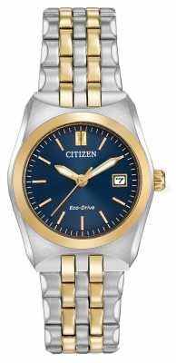 Citizen Womens Eco-Drive Corso WR100 Two Tone EW2294-53L