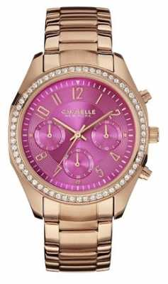 Caravelle New York Womens Stainless Steel Bangle 43L166