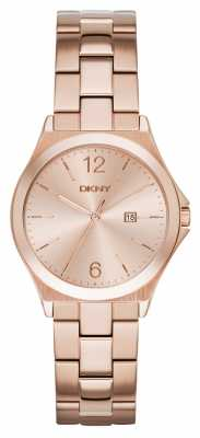 DKNY Womens Parsons Rose Gold Pvd Plated NY2367