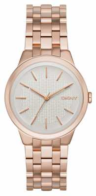DKNY Womens Park Slope Rose Gold PVD Plated NY2383