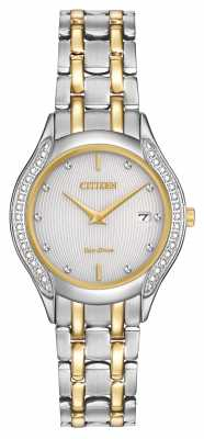 Citizen Womens Eco-drive 30 Diamond Two Tone GA1064-56A