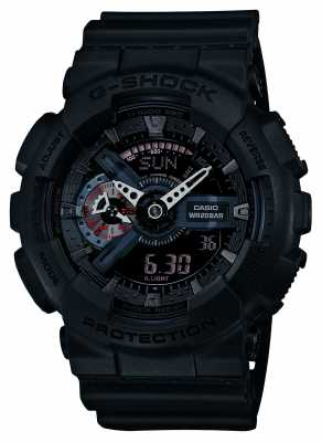 Casio Limited Edition G-Shock Mens Red Accents GA-110MB-1AER