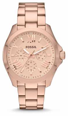 Fossil Womens Cecile Rose Gold PVD Plated AM4511