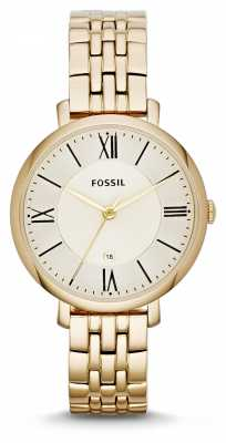 Fossil Womens Jacqueline Gold PVD ES3434