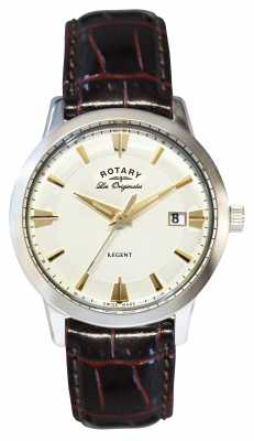 Rotary Mens Regent Les Originales, Brown Leather GS90112/06