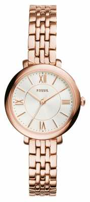 Fossil Womens Jacqueline Small Rose Gold PVD ES3799