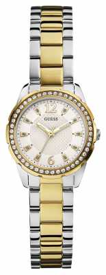 Guess Womens Desire Two Tone Strap W0445L4
