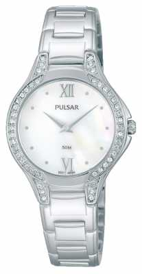 Pulsar Womens Stainless Steel Crystal Set PM2173X1
