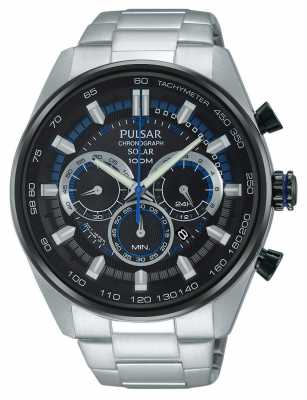 Pulsar Mens WRC Chrono *TV Advert* Stainless Steel PX5019X1