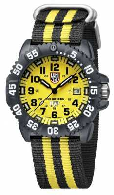 Luminox Scott Cassell 3950 Series Black Dial Yellow A.3955.SET