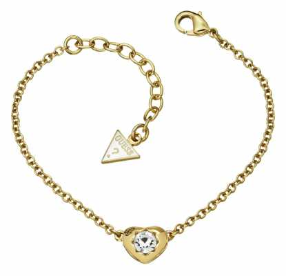 Guess Womens Crystals Of Love Mini Bracelet UBB51414
