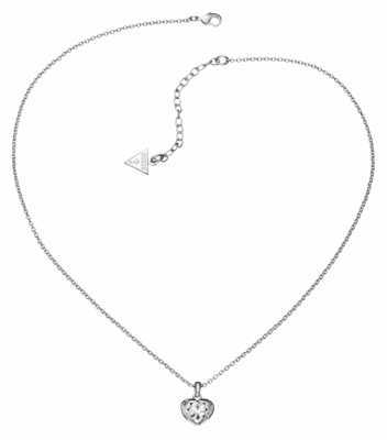 Guess Womens Crystals Of Love Pendant UBN51419